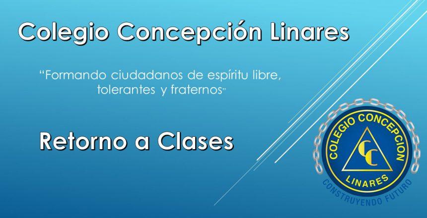 COMUNICADO RETORNO A CLASES